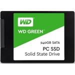 "SSD 240GB Western Digital Green WDS240G2G0A, SATA 6Gb/s, 2.5""(6.35 см), скорост на четене 545MBs, скорост на запис 465MBs image"
