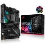 Дънна платка Asus ROG Strix X570-F Gaming, X570, AM4, DDR4, PCIe 4.0, (DisplayPort&HDMI)(SLI&CFX), 8x SATA 6Gb/s, 2x M.2 Socket, 4x USB 3.2 Gen 2, 4x USB 3.2 Gen 1, ATX image