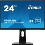 "Монитор Iiyama Prolite XUB2495WSU-B1, 24.1""(61.21 cm) IPS панел, WUXGA, 5ms, 5 000000 : 1, 300 cd/m2, HDMI, USB image"