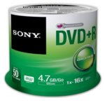 DVD+R media 4.7GB, Sony 16x, 50бр. image