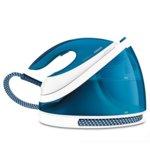 Парна ютия Philips GC7054/20 PerfectCare Viva, SteamGlide Plus гладеща повърхност, 320 г. парен удар, 120 г/мин парна струя, 2400W, синя image