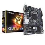 Дънна платка Gigabyte H310M-S2H, H310, 1151, DDR4, PCI-E(HDMI, DVI-D, D-Sub), 4x SATA 6Gb/s, 1x M.2 slot, 2x USB 3.1, Micro ATX image