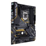 Дънна платка Asus The Ultimate Force TUF Z390-PLUS GAMING (WI-FI), Z390, LGA1151, DDR4, PCI-Е (DP&HDMI)(CFX), 6x SATA 6Gb/s, 2x M.2 sockets, 2x USB 3.1 Gen2, 4x USB 3.1 Gen1, Bluetooth 5.0, Wi-Fi AC, Aura Sync RGB подсветка, ATX image