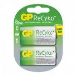Акумулаторни батерии GP ReCyko+ 570DHCB-2UEC2, D, 1.2V, 5700mAh, NiMH, 2бр. image