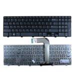 Клавиатура за Dell Inspiron, съвместима с N5110/M5110, Black, кирилизирана image
