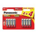 Батерия алкална Panasonic, AA (LR6), 1.5V, 4+4 бр. image