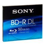 Blu-ray Dual layer media, Sony Video box, 50GB, 2x (72Mbit/s) image