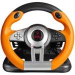 Волан с педали Speedlink DRIFT O.Z., вибриращ, USB, за PC, оранжев/черен  image