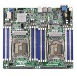 Дънна платка за сървър ASRock Rack EP2C612D16FM, LGA2011, DDR4 R DIMM and LRDIMM, 3x LAN1000, 10x SATA 6Gb/s, 2x SATA 6Gb/s, RAID 0, 1, 5, 10, 2x USB 3.0, SSI CEB image
