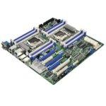Дънна платка за сървър ASRock Rack EP2C612D16-2L2T, LGA2011, DDR4 R DIMM, and LR DIMM, 5x LAN1000, 6x SATA 6Gb/s, 4x sSATA 6Gb/s, 2x SATA 6Gb/s, RAID 0, 1, 5, 10, 2x USB 3.0, SSI EEB image