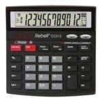 Калкулатор Rebell CC512 check steps, 12 заряен дисплей, черен image
