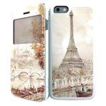 Калъф за iPhone 6, Flip cover, iPaint Paris DC Case image