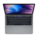 "Лаптоп Apple MacBook Pro 15 Touch bar (MV902ZE/A)(сив), шестядрен Coffee Lake Intel Core i7-9750H 2.6/4.5GHz, 15.4"" (39.12cm) IPS Retina дисплей & Radeon Pro 555X 4GB, 16GB DDR4, 256GB SSD, 4x USB-C Thunderbolt 3, macOS High Sierra, 1.83 kg image"