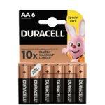 Батерии алкални Duracell AA, 1.5V, 6 бр. image