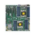 Дънна платка за сървър SuperMicro MBD-X10DRI, 2x LGA 2011, поддържа ECC LRDIMM/DDR4 SDRAM, 2x Lan1000, 10x SATA3 RAID (0,1,5,10), 2x USB 3.0, E-ATX, Retail Pack image