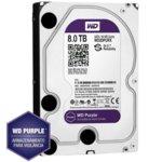 "8TB WD Purple, SATA 6Gb/s, 5400 rpm, 128MB, 3.5"" (8.89cm) image"
