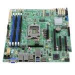 Дънна платка за сървър Intel S1200SPLR, LGA 1151, поддържа ECC UDIMM DDR4 RAM, 2x Lan1000, 8x SATA 6.0Gb/s RAID 0/1/10/5, 1x M.2 (2242), Display Port, VGA, uATX image