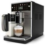 Автоматична еспресо машина Philips Saeco PicoBaristo Deluxe SM5573/10, 12 напитки, 1,8л резервоар, вградена първокласна кана за мляко, 12-степенна регулируема мелачка, черна image