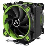 Охлаждане за процесор Arctic Freezer 33 eSports Edition Green, съвместимост с AMD AM4/2066/2011/1156/1155/1150/1151 image