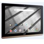 """Acer Iconia B3-A50FHD-K0AC(NT.LEZEE.002), 10.1"""" (25.65 cm) FHD IPS дисплей, четириядрен MTK MT8167A Cortex A35 1.50GHz, 2GB RAM, 32GB ROM (+ microSD слот), 5Mpix & 2Mpix camera, Android 8.1 Oreo, 560g, Black&Gold image"""