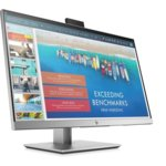 "HP EliteDisplay E243d, 23.8"" Monitor with DockМонитор HP EliteDisplay E243d(1TJ76AA), 23.8"" (60.45 cm) IPS панел, Full HD, 7ms, 250 cd/m2, HDMI, 4x USB 3.1, 1x USB 3.1 Type C, 1x RJ-45, 720p HD вградена камера image"