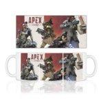 Чаша Apex Legends, бяла image