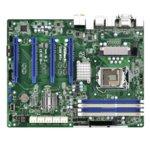 Дънна платка за сървър ASRock Rack C226WS+, LGA1150, DDR3 UDIMM and ECC UDIMM, 2x LAN1000, 6x SATA 6Gb/s, 4x SATA 6Gb/s, RAID 0,1,5,10, RAID 0,1, 4x USB 3.0, ATX image
