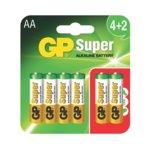 GP Batteries GP-BA-SUP-LR6-4+2