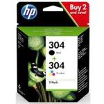 Глава за HP DeskJet 2620/2622/2630/2632/2633/2634, Black/Cyan/Magenta/Yellow, - 3JB05AE - HP - Заб.: 100 к - цветно, - Заб.: 120 к - черно image