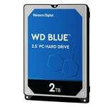 "2TB Western Digital Blue, SATA 6Gb/s, 5400 rpm, 128MB, 2.5"" (6.35cm) image"
