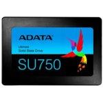 """Памет SSD 512GB, ADATA SU750, SATA 6Gb/s, 2.5""""(6.35 cm), скорост на четене 550 MB/s, скорост на запис 520MB/s image"""