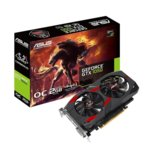 Видео карта Nvidia GeForce GTX 1050, 2GB, ASUS Cerberus OC Edition, PCI-E 3.0, GDDR5, 128 bit, DisplayPort, HDMI, DVI image