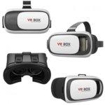 """Очила за виртуална реалност VR Box, съвместими със смартфони с диагонал от 4.7"""" до 6"""", черни image"""