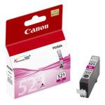 ГЛАВА CANON PIXMA iP 3600/4600/MP540/MP620/MP630/MP980 - Magenta ink tank - P№ 2935B001 / CLI-521M - заб.: 9ml. image
