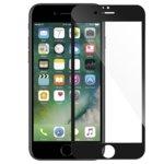 Протектор от закалено стъкло /Tempered Glass/, за Apple iPhone 7 plus, 5D, черна рамка image