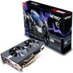 Видео карта AMD Radeon RX 580, 8GB, Sapphire Nitro+, PCI-E 3.0, GDDR5, 256-bit, DisplayPort, HDMI, DVI image