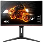 "Монитор AOC C24G1, 24""(60.96 cm), VA панел, Full HD, 1ms, 80M:1, 250 cd/m2, DisplayPort, HDMI, VGA  image"