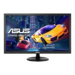 "Монитор Asus VP247QG, 23.6"" (59.94 cm) TN панел, Full HD, 1ms, 100 000 000:1, 250 cd/2, DisplayPort, HDMI, D-Sub  image"