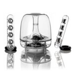 Тонколона Harman Kardon SoundSticks, 2.1, Bluetooth, сензорно управление, прозрачно image