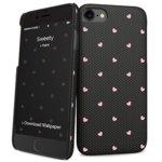 Калъф за Apple iPhone 8, поликарбонатов, iPaint Sweety HC 131006, черен image