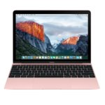 "Лаптоп Apple MacBook 12(MNYN2ZE/A_Z0U40002L/BG)(розов), двуядрен Kaby Lake Intel Core i5-7Y54 1.2/3.2GHz, 12"" (30.48 cm) WQHD IPS Retina дисплей(USB 3.1 Type C), 8GB LPDDR3, 512GB SSD, BG клавиатура, MacOSX Sierra, 0.92 kg image"