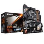 Дънна платка Gigabyte Z390 Aorus Elite, Z390, 1151, DDR4, PCI-E(HDMI)(CF), 6x SATA 6Gb/s, 2x M.2 slot, 1x USB Type-C, RGB Fusion 2.0, ATX image