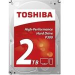 """2TB Toshiba, SATA 6.0 Gbit/s, 7200rpm, 64MB, 3.5""""(8.89 cm), bulk image"""