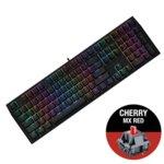 Клавиатура Ducky Shine 7 Blackout RGB, гейминг, механична (Cherry MX Red), черна, USB image