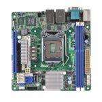 Дънна платка за сървър ASRock Rack E3C224D2I, LGA1150, DDR3 ECC UDIMM, 3x LAN1000, 4x SATA 6Gb/s, 2x SATA 3Gb/s, RAID 0, 1, 5, 10, 2x USB 3.0, Mini ITX image