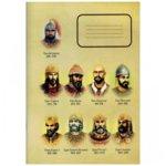 Тетрадка Български царе, формат A5, офсетова хартия широки редове, 80 листа image