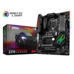 Дънна платка MSI Z270 GAMING PRO CARBON, Z270, LGA1151, DDR4, PCI-E (HDMI&DVI)(SLI&CF), 6x SATA 6Gb/s, 2x M.2 slot, 4x USB 3.1 (Type-A), ATX image
