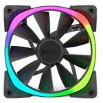 Вентилатор 120mm, NZXT Aer RGB 120, 4-pin, 1500 rpm, черен, подсветка image