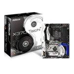 Дънна платка ASRock X370 Taichi, X370, AM4, DDR4, PCI-E (CF&SLi), 8x SATA3 6.0 Gb/s, 2x M.2 Socket, 6x USB 3.0, ATX  image