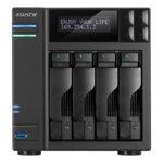 """Asustor AS7004T-I5, четириядрен Intel Core i5 3.0GHz, без твърд диск(4x SATA3/2.5""""/3.5""""/SSD), 8GB DDR3 RAM, 2x Lan1000, 1x HDMI, 3x USB 3.0, 2x USB 2.0, 2x eSATA image"""